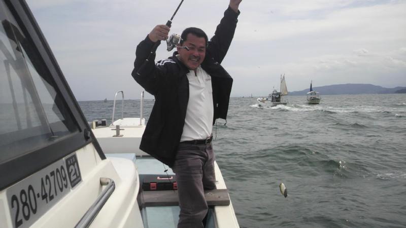 マルアジ&<br />  イイダコ釣り