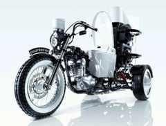 TOTOがバイクを制作