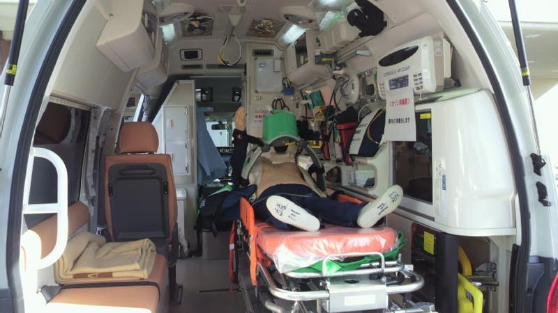高規格救急車が配備。